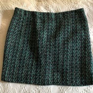 J crew tweed skirt size 2